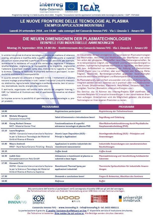 seminar zum thema die neuen dimensionen der plasmatechnologien beispiele fr industrielle anwendungen - Konsumguter Beispiele